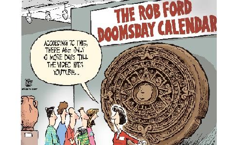 By Editorial Cartoon